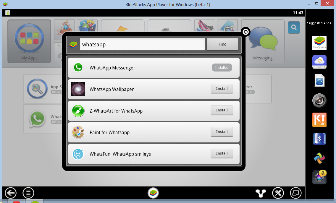 Installation Procedure for WhatsApp-myappsforpc