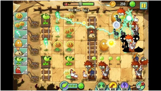 Download game plant vs zombie 2 cho android
