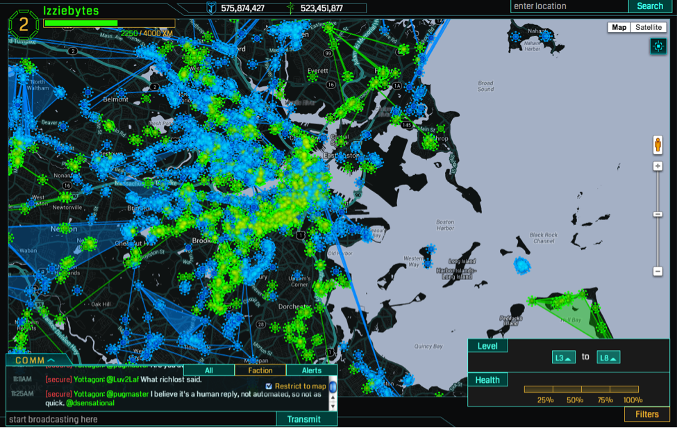 Ingress-gameplay