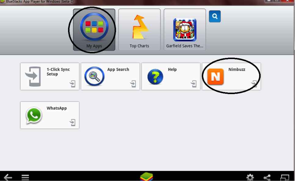 Installing-nimbuzz-on-pc-using-bluestacks